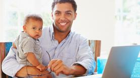 Working dad image